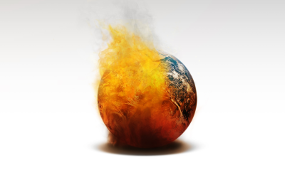 global warming - the globe is burning, according to experts