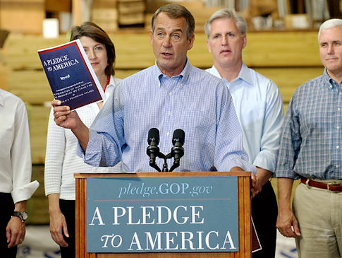 Republicans and the Pledge to America
