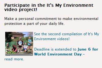 Make a personal commitment to make environmental protection a part of your daily life