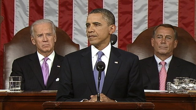 Photo of Obama at his Job Speech to the joint session of congress on September 8, 2011